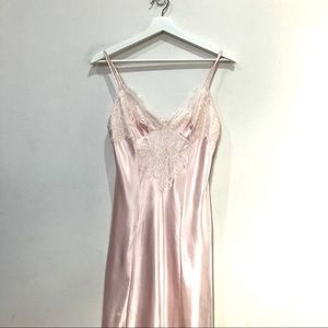 Oscar de la renta pink label maxi night gown Sz xs